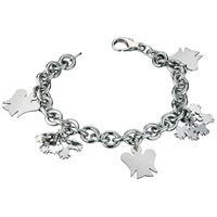 Roberto giannotti angeli gia123 gioiello donna bracciale argento argento
