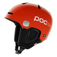 POC pocito fornix, casco da sci alpino unisex-bambini, arancio, xs/s