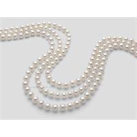 Miluna fili di perle akoya 1mau775_40nl202 gioiello donna collana perle