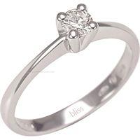 Bliss solitario incanto 20060677 gioiello donna anello oro