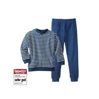Living Crafts pigiama in cotone biologico -col. Righe blu