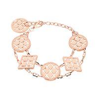 Rebecca melrose 10 b10brr07 gioiello donna bracciale bronzo