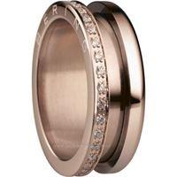Bering anello esterno 599-3323-93 gioiello donna anello acciaio