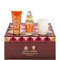 Penhaligon's vaara confezione 50 ml edp + 50 ml hand creme + 70 gr candela