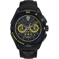 Scuderia Ferrari orologio cronografo uomo Scuderia Ferrari gran premio fer0830345
