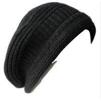 Italmaglia basco in maglia punto links con costina e bordo ripiegato - 100% pura  lana 2bdee8787288
