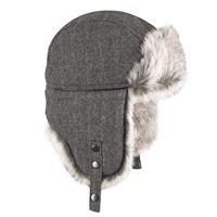 BREKKA colbacco wool eco russia nero