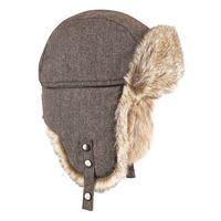 BREKKA colbacco wool eco russia marrone