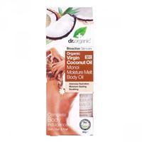 Dr. Organic olio corpo solido monoi moisture melt body oil organic virgin coconut oil 90 gr