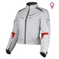 BEFAST giacca moto donna touring befast delta grigio