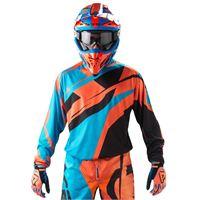 Acerbis maglia cross Acerbis profile mx17 blu arancio nero