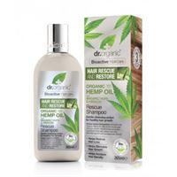 Dr. Organic shampoo riparatore rescue shampoo organic hemp oil 265 ml