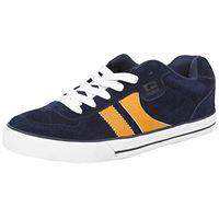 Globe encore - 2, scarpe da skateboard uomo, multicolore (navy/yellow), 41 eu