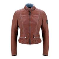Belstaff fordwater air cotton expanded lady jacket m burnised red