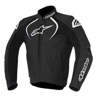 Alpinestars jaws leather jacket 56 black
