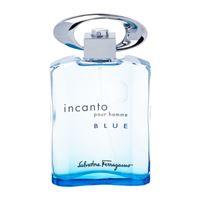 Salvatore Ferragamo incanto blue 100ml per uomo (eau de toilette)