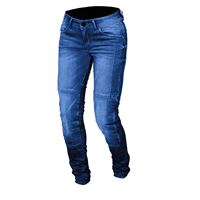 Macna jeans moto donna Macna jenny con rinforzi in fibra aramidica blu medio