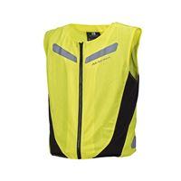 Macna gilet alta visibilità estivo v4a element giallo fluo
