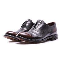 OFFICINE CREATIVE scarpe donna allacciate marrone scuro OFFICINE CREATIVE
