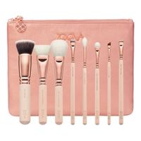 ZOEVA rose golden luxury set vol. 2 - set di pennelli per il viso e gli occhi