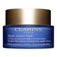 Clarins multi-active nuit confort - crema notte prime rughe