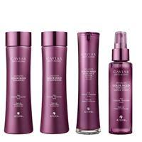 Alterna caviar infinite color hold kit shampoo + conditioner + serum + shine spray