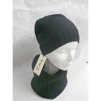 Italmaglia completo berretto e scaldacollo - 100% pura lana