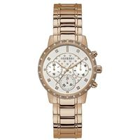 Guess orologio guess lady sunny multifunzione stainless steel - w1022l3 rose gold