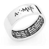 Amen anello uomo gioielli Amen padre nostro; Apn-24
