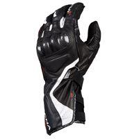 Macna guanti moto pelle estivi racing Macna apex nero bianco rosso