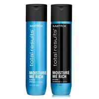 Matrix total results kit moisture me rich shampoo + conditioner