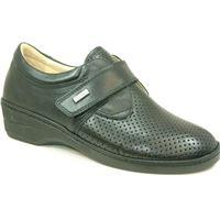 Susimoda scarpa Susimoda walksan nera elasticizzata e traforata con plantare estraibile