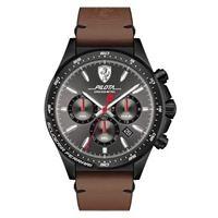 Scuderia Ferrari orologio cronografo uomo Scuderia Ferrari piloa; Fer0830392