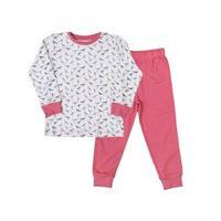 People Wear Organic pigiama due pezzi in cotone bio birds