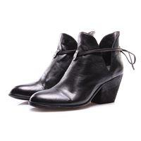4953035d30 OFFICINE CREATIVE scarpe donna stivali nero tacco texano OFFICINE CREATIVE