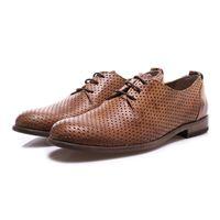 MANOVIA 52 scarpe uomo allacciate marrone chiaro MANOVIA 52