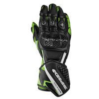 Spidi carbo 5 l black / kawasaki green