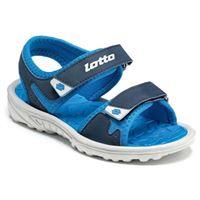 Lotto sandalo in gomma blu Lotto da bambino