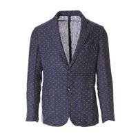 BASTONCINO abbigliamento uomo giacca rombi grigio blu BASTONCINO
