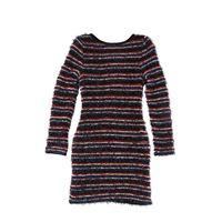 BALMAIN vestito in maglia dettagli in lurex