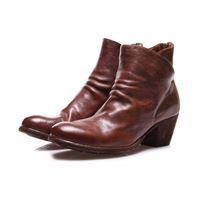 OFFICINE CREATIVE scarpe donna stivali marrone OFFICINE CREATIVE