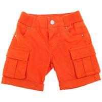 Gucci pantaloncini shorts neonato in outlet, arancio, cotone, 2019, 6m 9m