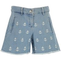 NO 21 pantaloncini shorts bambina in outlet, blue denim, cotone, 2019, 30 (6 years) 36 (9 years) 44 (14 years)