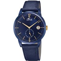 Lotus orologio solo tempo uomo Lotus minimalist; 18362/1