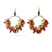 Isola bella orecchini 20000304 orecchini peperoncino gioiello donna orecchini argento