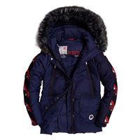 superdry giacche superdry canadian mountain range down parka