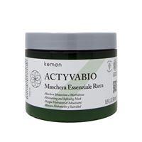 Kemon actyva bio maschera essenziale ricca 500 ml