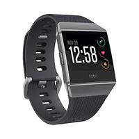 Fitbit ionic, fitness smartwatch unisex-adulto, nero e grigio grafite, taglia unica