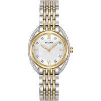 Bulova orologio solo tempo donna Bulova curv; 98r229