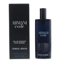 Armani code pour homme 15 ml eau de toilette